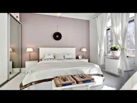 Белые спальни минимализм 1