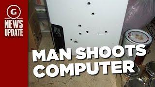 Man Shoots Computer Eight Times After Getting Blue Screen of Death - GS News Update