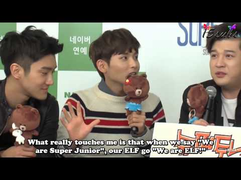 [ENG SUB] 130321 Line Live Chat [15SUBS]