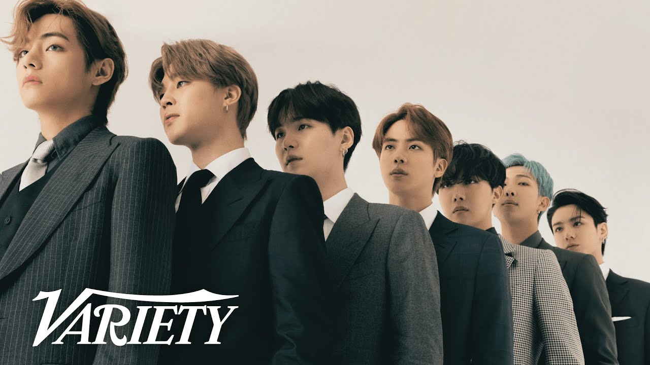 BTS: Inside Their Variety Cover Shoot