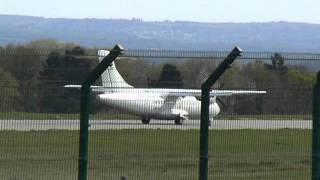 ATR 42 Chalair Landing at Limoges Airport