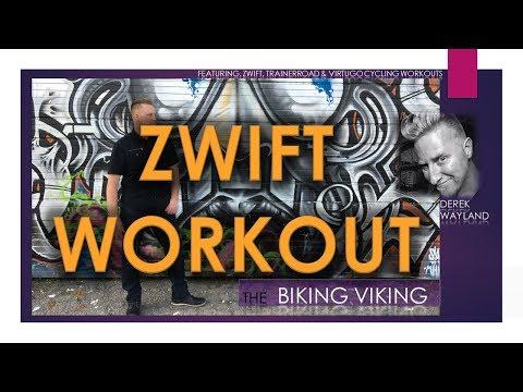 Zwift  - Live Stream  (4wk FTP Booster - Week 1 - Day 1)