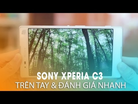 Sony XPERIA C3 Smartphone chụp ảnh tự sướng cực đỉnh!