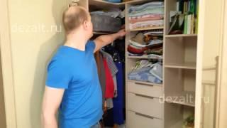 Угловой каркасный шкаф, с распашными дверьми(, 2016-04-01T23:30:46.000Z)