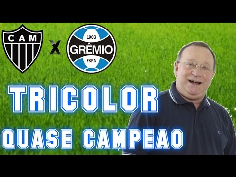 Gols De Atlético MG 1 X 3 Grêmio (Pedro Ernesto) Rádio Gaúcha - Copa Do Brasil - 23/11/2016