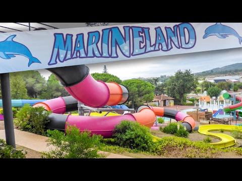 Water Slides / Atracciones Marineland Catalunya (GoPro POV)