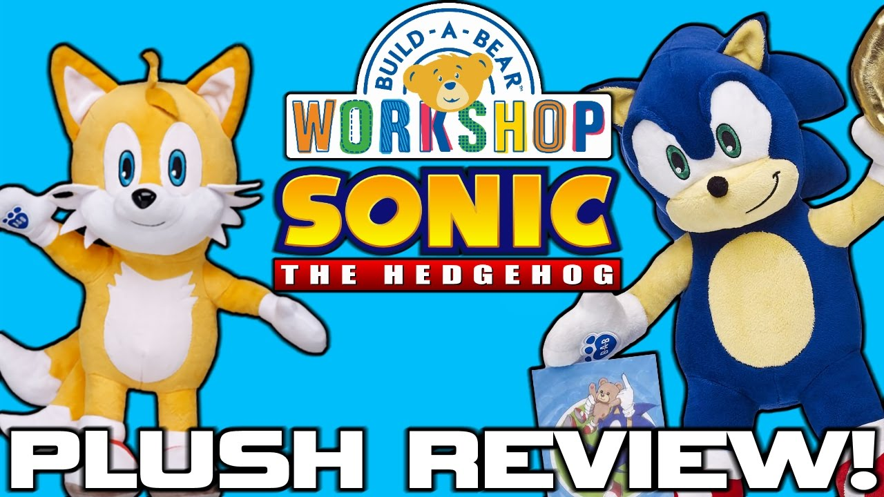 Build A Bear Sonic The Hedgehog Plush Review Youtube