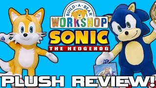 Build-A-Bear Sonic The Hedgehog Plush REVIEW!