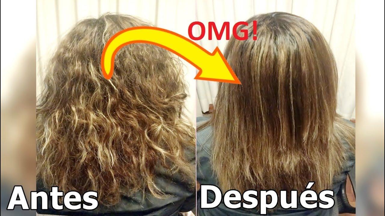 Mascarillas caseras para cabello quemado