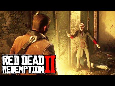 Пасхалки Red Dead Redemption 2 - Все 5 локаций. Вампир из Сен-Дени (Easter Eggs #1)