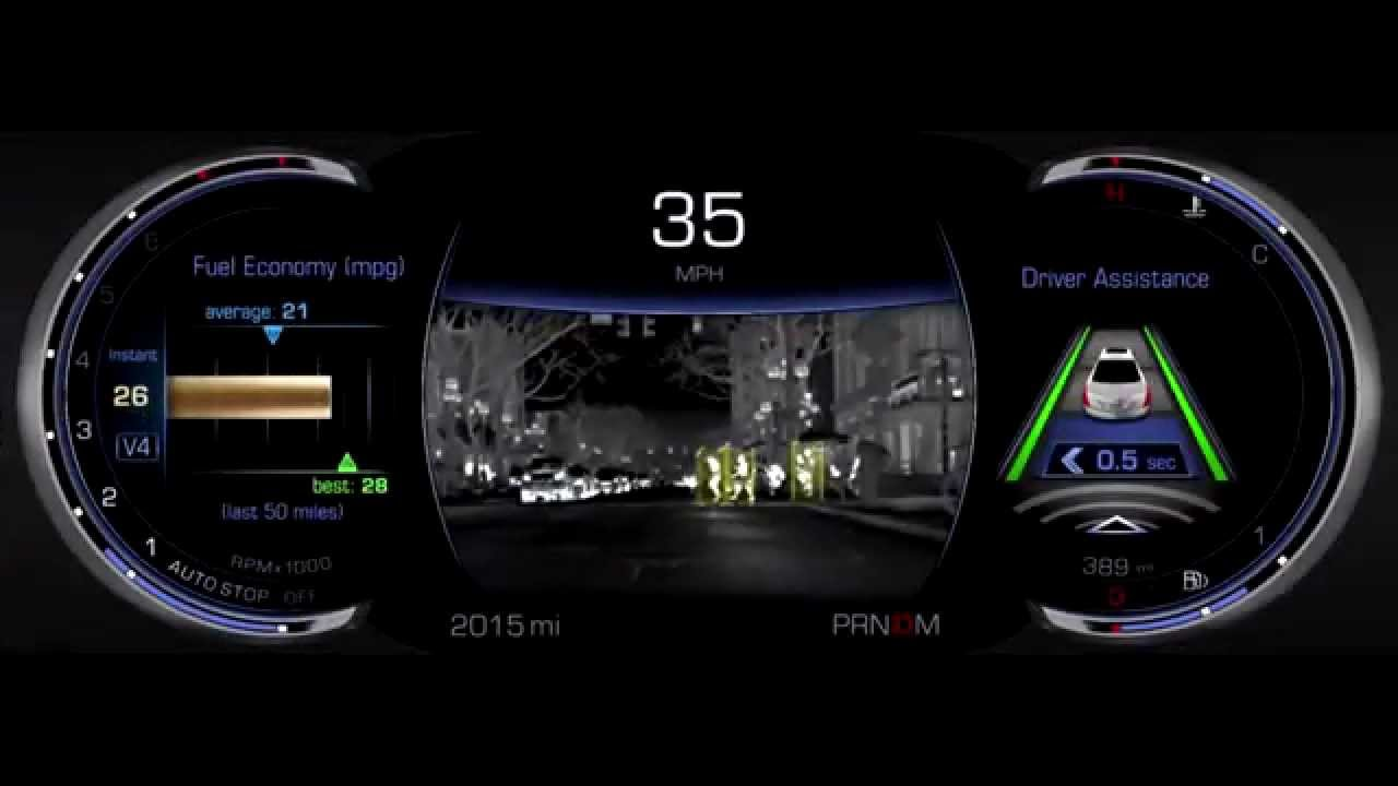Cadillac Ct6 With Night Vision Youtube