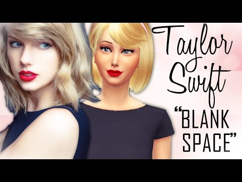The Sims 4 | Create A Sim - Taylor Swift [Blank Space Inspired]