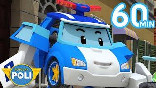 Robocar POLI English Full Episodes | School B's Present & More | Cartoon for Kids | Robocar POLI TV