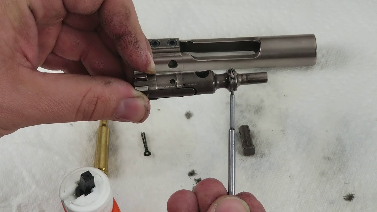 How to Oil a BCG