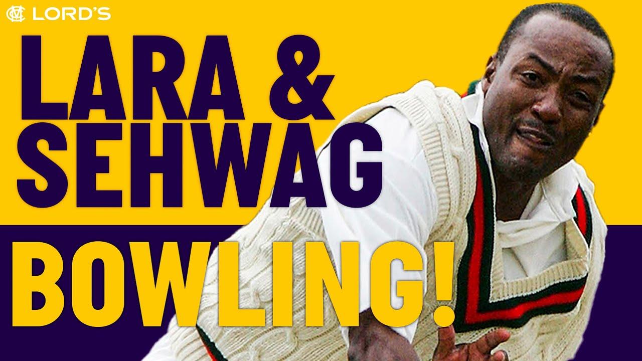 Lara & Sehwag Bowling at Lord's! | World Cricket Tsunami Appeal 2005