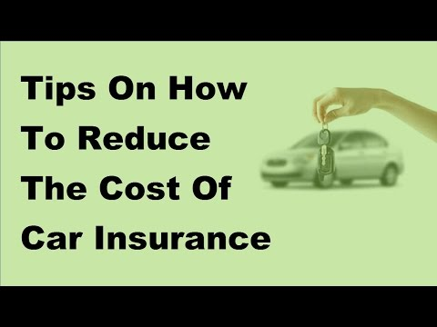 2017 Car Insurance Advices -  Useful Tips To Reduce Cost Of Car Insurance