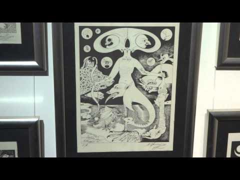 Михаил Шемякин иллюстрации к песням и  стихам Высоцкого