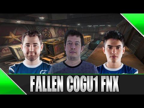 [CS:GO] - Fallen, cogu1 e FNX Jogando No Mesmo Time! (de_train)