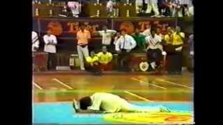 Мастер класс Дитан-цюань - падающий кулак