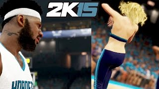 NBA 2k15 MyCAREER Gameplay Playoffs - Dancers Booty Distracts Team at Half! Bad Shooting Game 3 thumbnail