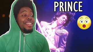 1st Time Ever Hearing Prince Purple Rain REACTION!!!