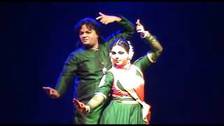 Classical KATHAK - Beautiful performance by Abhimanyu & Vidha lal