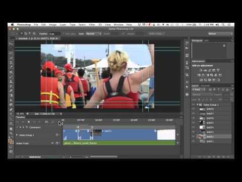 Photoshop CS6 Video Editing