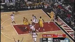 Louisville vs Marquette NCAA basketball March 1, 2006 (FULL GAME)