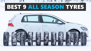 9 of the BEST All Season Tyres For 2020 Tested and Explained