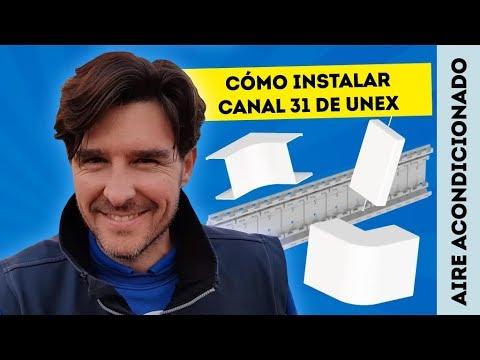 CÓMO INSTALAR AIRE ACONDICIONADO CON CANAL 31 DE UNEX