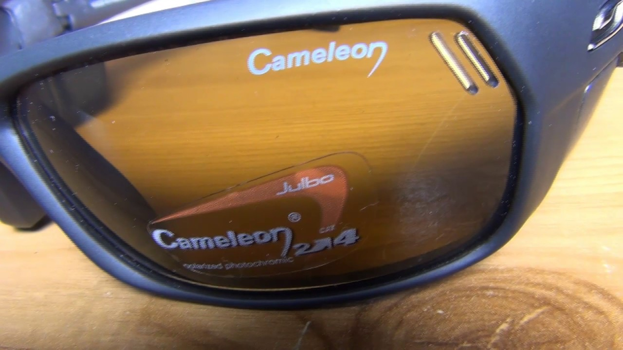 0915a5e238 Julbo J383522 Bivouak Cameleon Sunglasses close look - YouTube