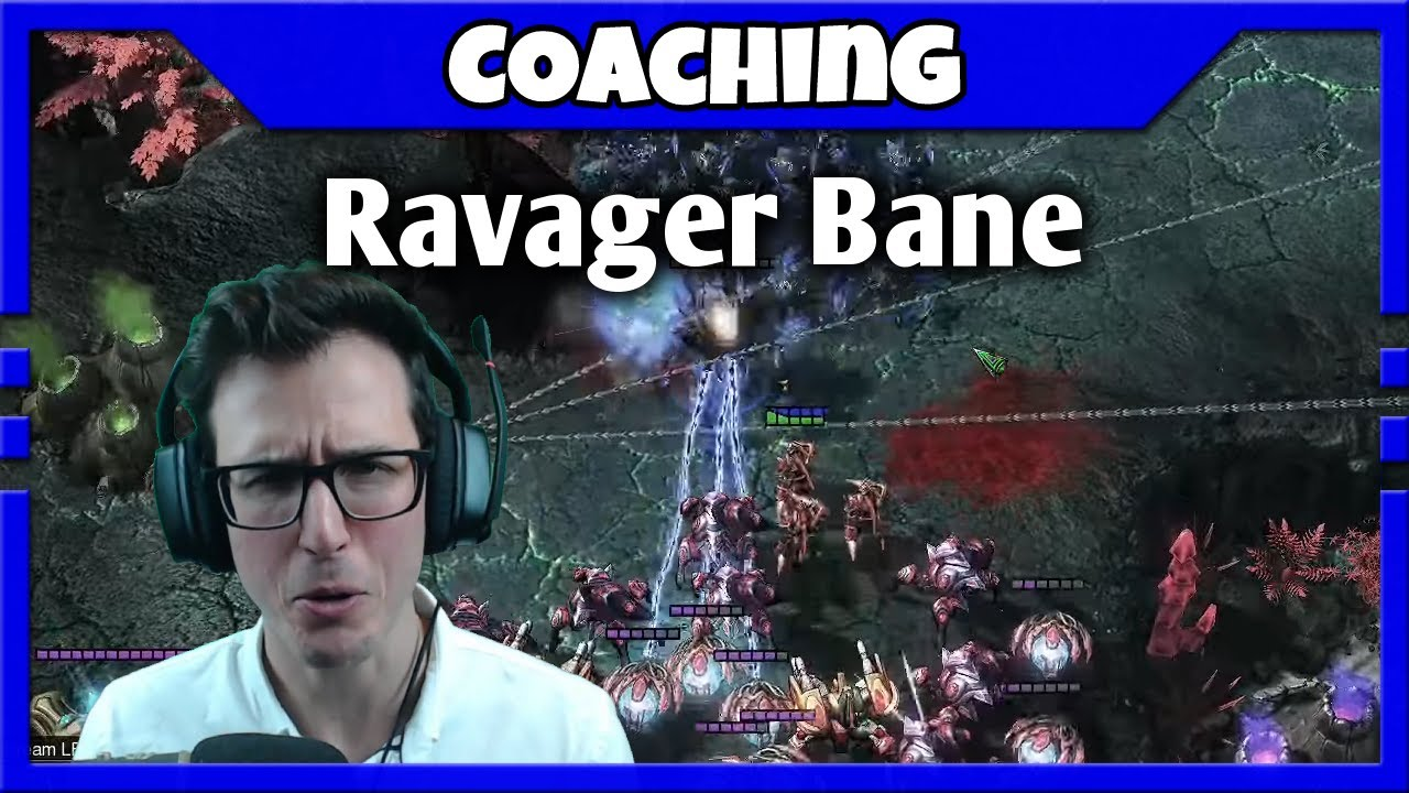 Ravager Bane engagements in ZvP | Coaching M2 Zerg