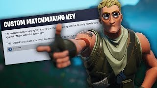 Fortnite Custom Matchmaking! Utilisez le code 'twigg' Royaume-Uni/UE