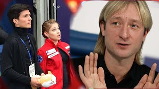 Косторная с Плющенко работаем вдолгую на Олимпиаду Косторная смотрелась тяжеловата