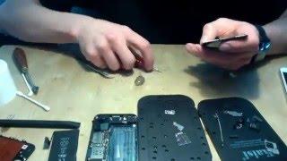 видео ремонт iphone 4 в москве