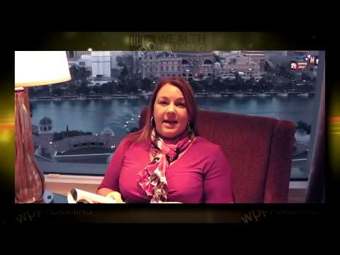 Amanda Cassar in Las Vegas on managing a Windfall