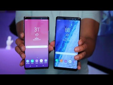 Galaxy Note 9 vs Galaxy Note 8: ¿Cuáles son las diferencias?