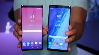 Galaxy Note 9 vs Galaxy Note 8: ¿Cuáles son las diferencias?