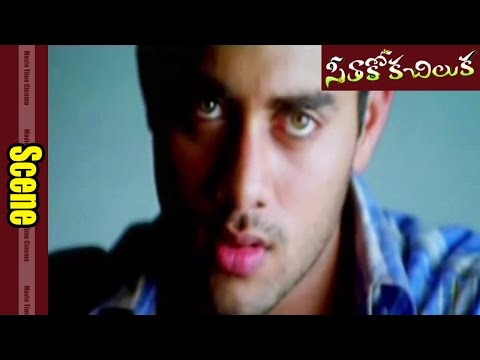 Navdeep Romantic Looking To Lecturer In Class Room || Seethakoka Chiluka  Movie || Navdeep, Sheela