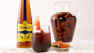 Metaxa Sangria - Kathy Casey's Liquid Kitchen - Small Screen(http://www.smallscreennetwork.comSign up for the Small Screen Email Newsletter: http://vid.io/xdM Be the first to know when new episodes air on our site!, 2012-07-03T21:06:46.000Z)