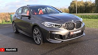 BMW 1 Series M135i 2020   Sound Exhaust NEW FULL REVIEW Interior Exterior Infotainment