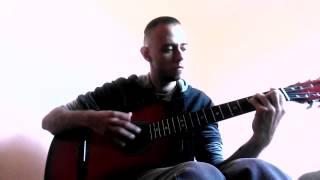 Slipknot - Snuff acoustic guitar cover