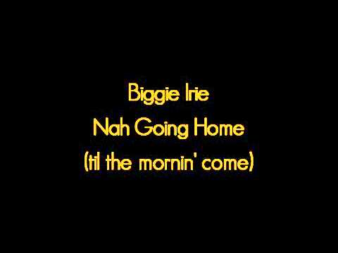 Biggie Irie - Nah Going Home (til the Mornin' Come)