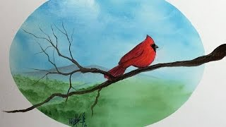 painting with magic season 4 ep 6 red cardinal in jackson