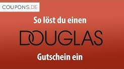 Einen Douglas Gutschein online einlösen