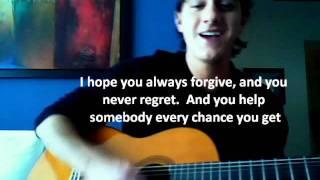 Rascal Flatts - My Wish guitar cover