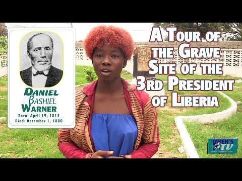 The Grave Site of Daniel B. Warner The 3rd President Of Liberia