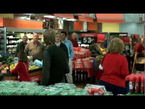 Spirit of Christmas Flash Mob Cairo, GA Walmart