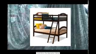 Stork Craft Long Horn Bunk Bed Espresso
