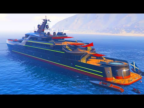 """GTA 5 Online - SAVE MILLIONS! Best Super Yacht Is """"The Pisces"""" (GTA 5 Executives Update)"""